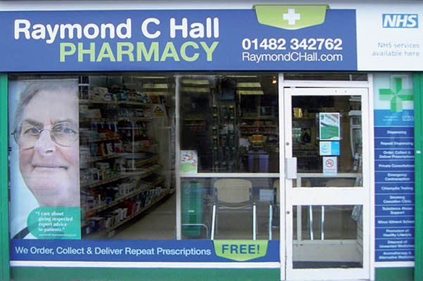Raymond C Hall Shop Front